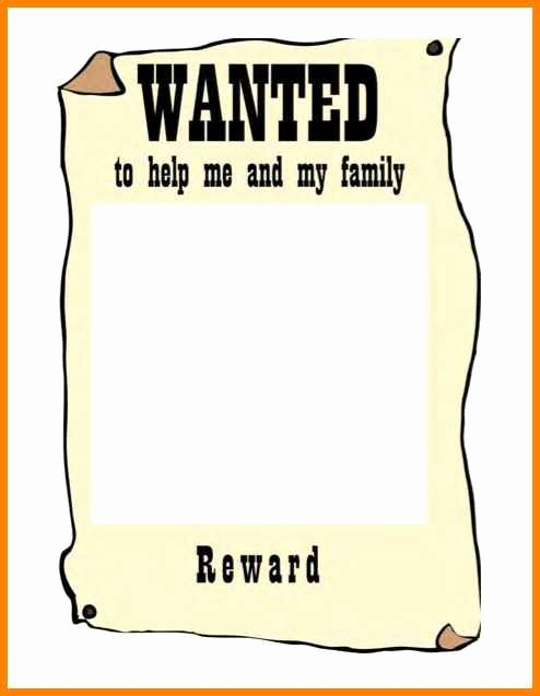 Free Wanted Poster Template Beautiful 8 Editable Wanted Posters