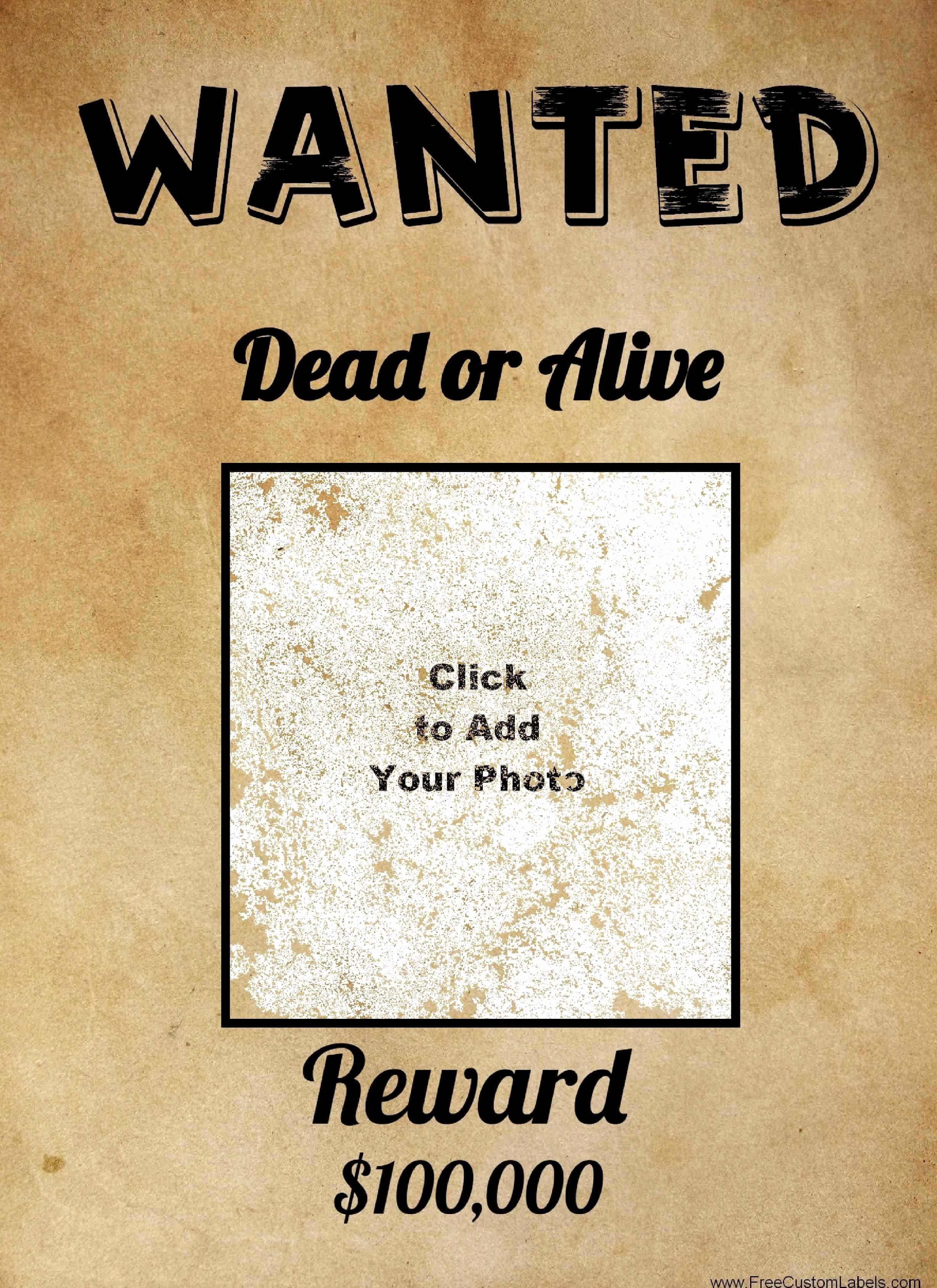 Free Wanted Poster Template Beautiful Free Wanted Poster Maker