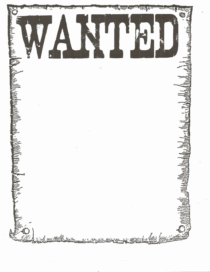 Free Wanted Poster Template Beautiful Free Wanted Poster Template Google Search