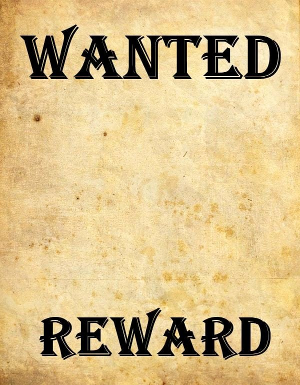 Free Wanted Poster Template Elegant 9 Wanted Poster Templates Word Excel Pdf formats