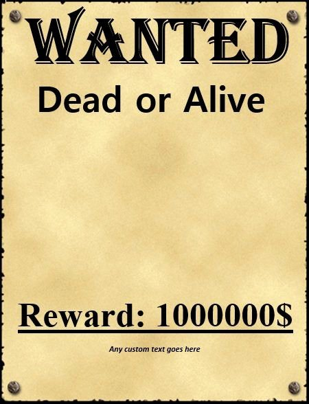 Free Wanted Poster Template Elegant Wanted Poster Template Fbi and Old West Free