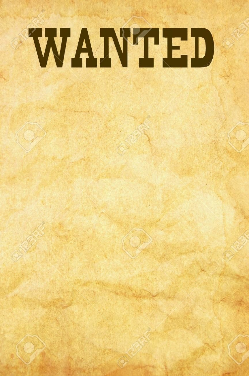 Free Wanted Poster Template Fresh What's the Simplest Way Of Fashioning A Wanted Poster