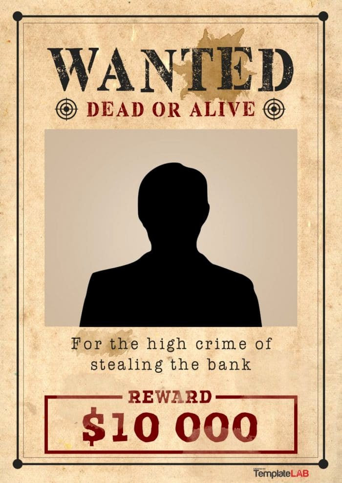 Free Wanted Poster Template Lovely 25 Free Wanted Poster Templates Shop Pdf Google