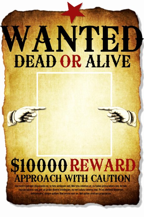 Free Wanted Poster Template Luxury Wanted Template