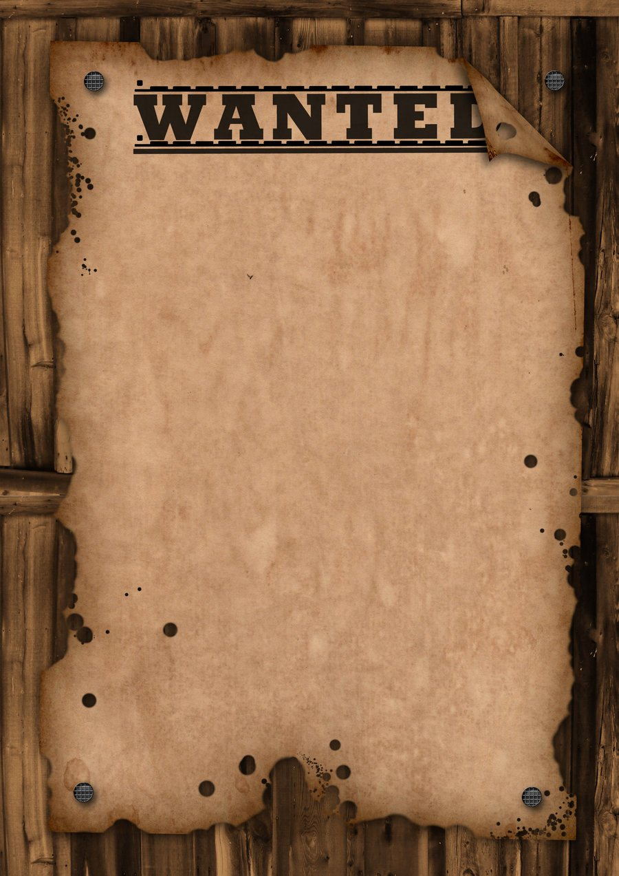 Free Wanted Poster Template Unique Wanted Template by Maxemilliam On Deviantart