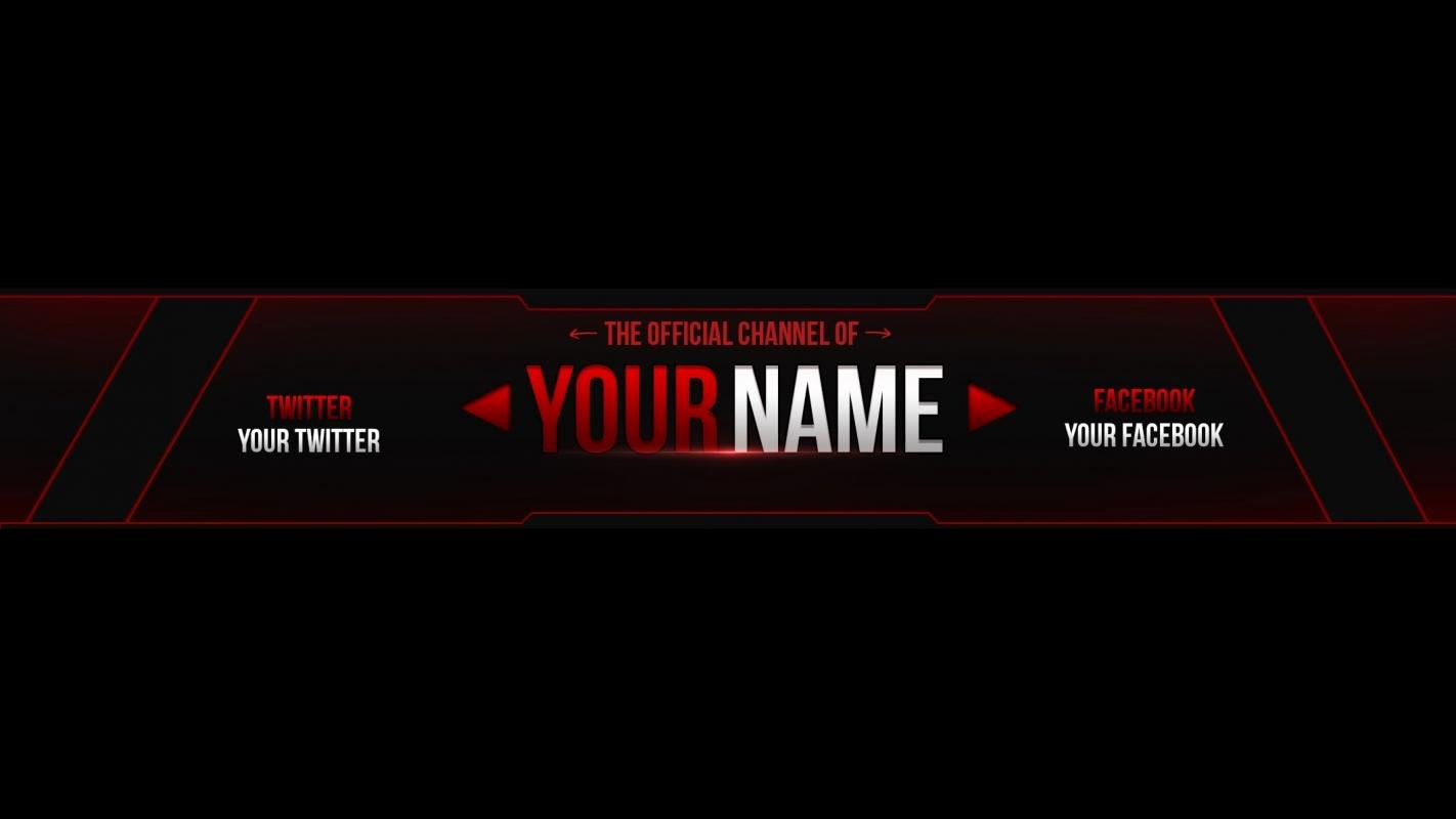 Free Youtube Banner Templates Awesome Youtube Banner Templates