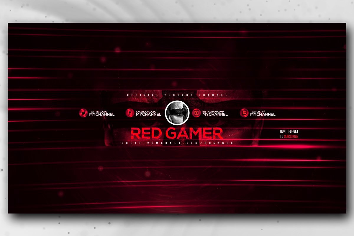 Free Youtube Banner Templates Best Of 20 Gaming Channel Art Templates for Gamers Vlog