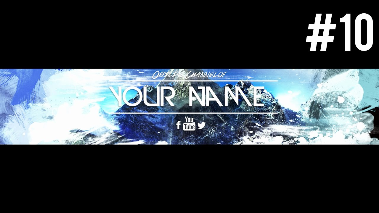 Free Youtube Banner Templates Luxury Insane Free Youtube Banner Template Psd 2015 10