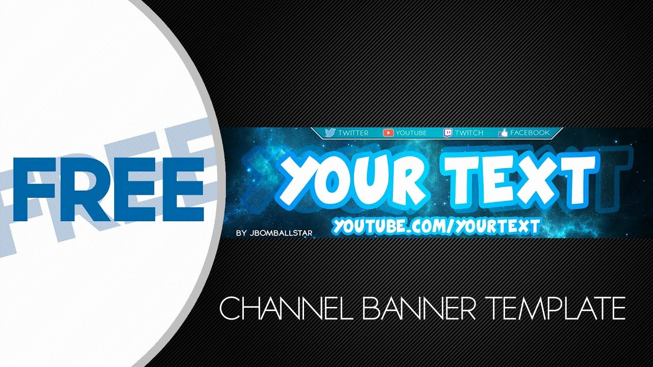 Free Youtube Banner Templates Luxury [speedart] Free Hd Youtube Channel Banner Template