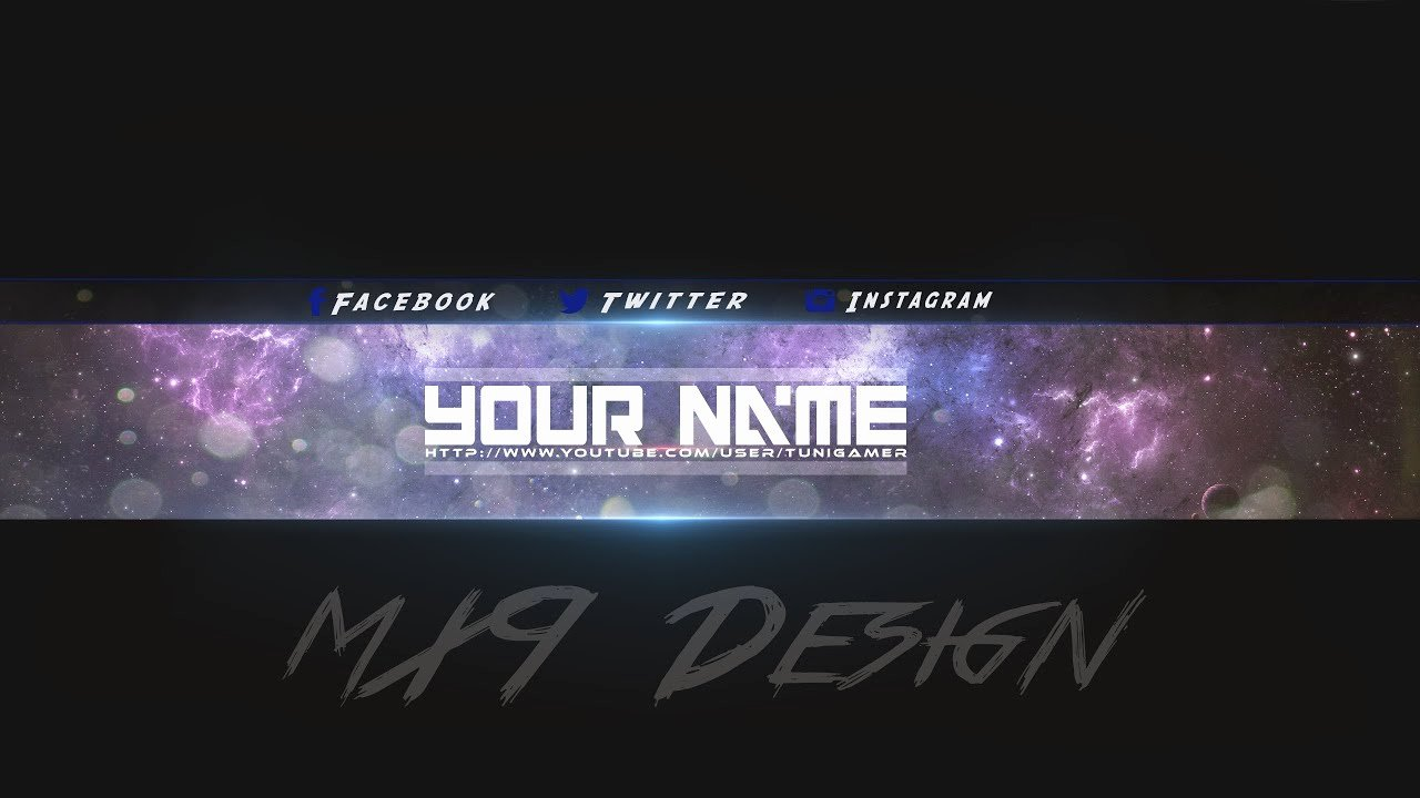 Free Youtube Banner Templates New [speedart] Free Amazing Youtube Channel Banner Template 3