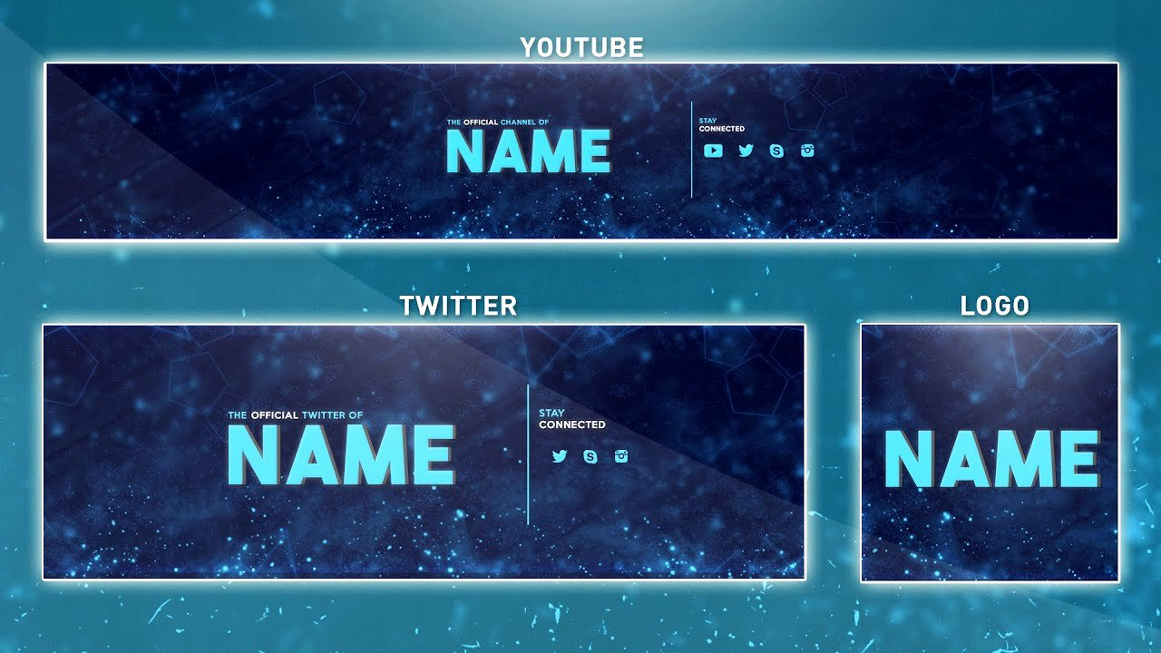Free Youtube Banner Templates Unique Free Banner Template