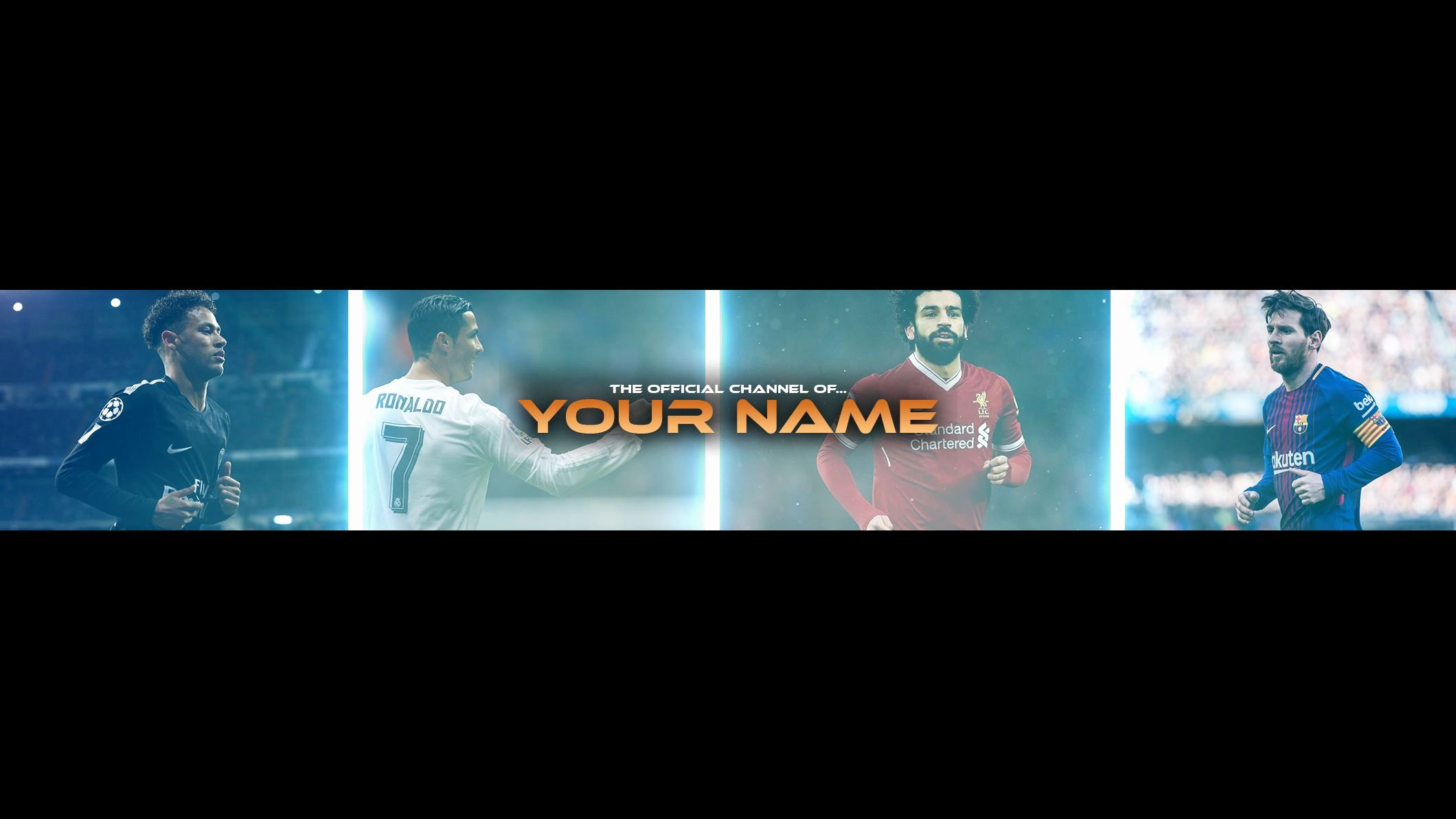 Free Youtube Banner Templates Unique Free Football Banner Template for Channel 23