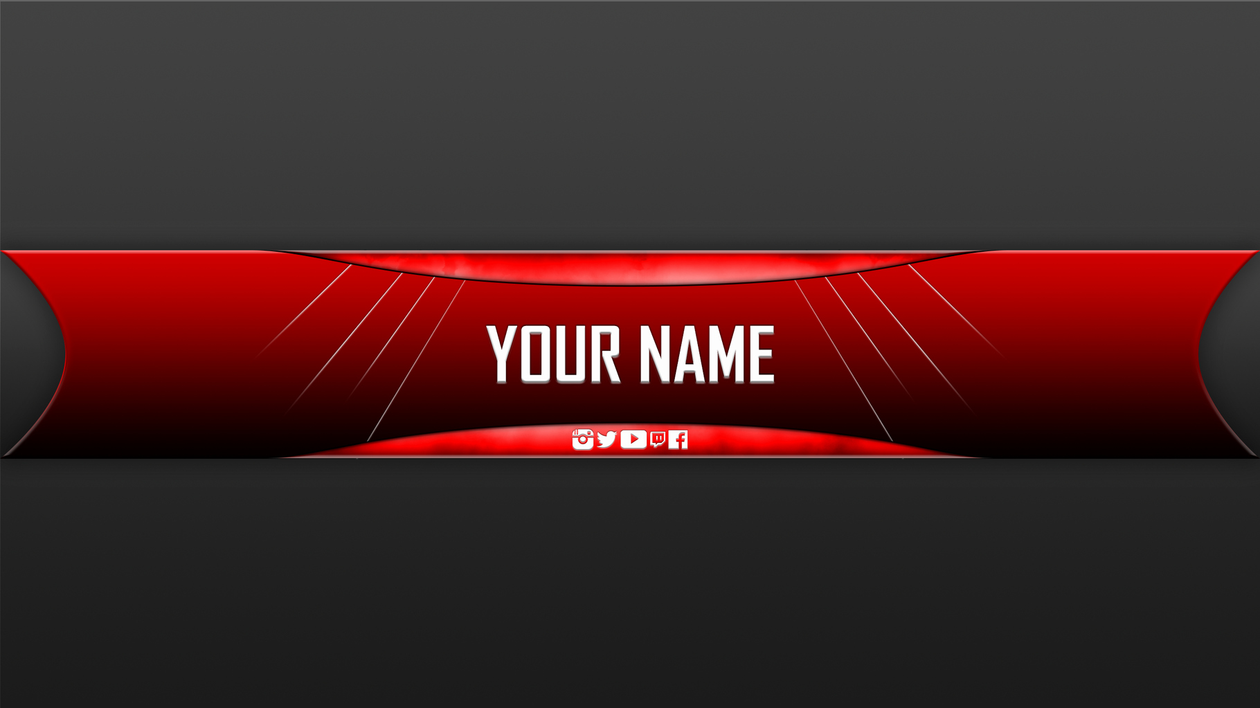 Free Youtube Banner Templates Unique Free Youtube Banner