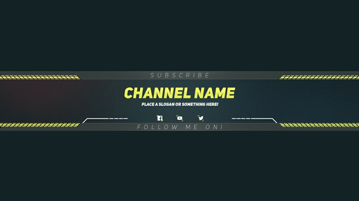 Free Youtube Banner Templates Unique Premium Youtube Banner Template Shop Template