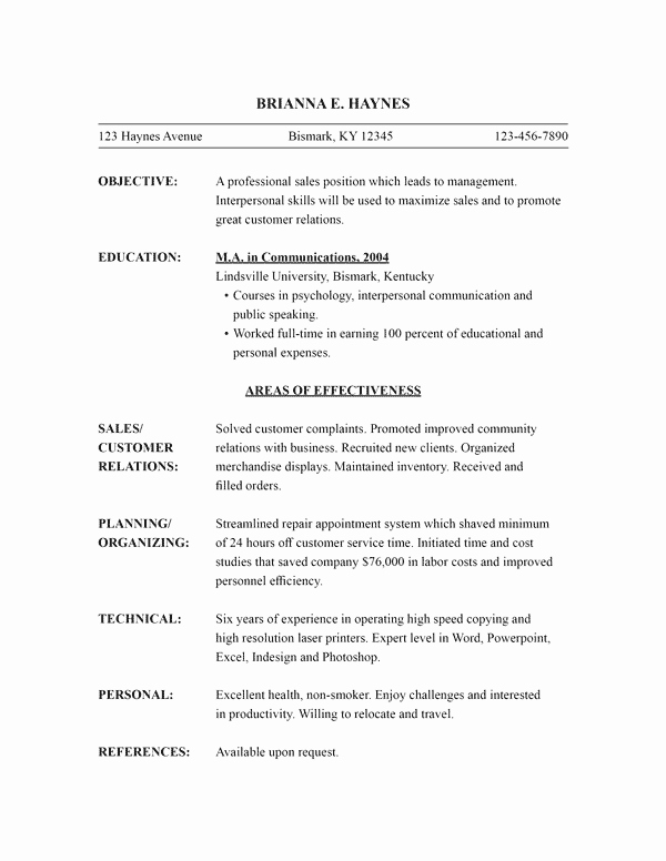 Functional Resume Template Word Beautiful Functional Resume Template Word Image – Download