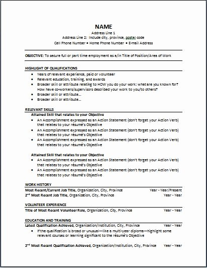 Functional Resume Template Word Best Of 1000 Ideas About Functional Resume Template On Pinterest