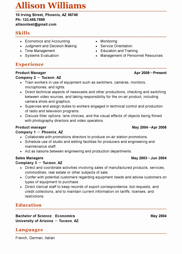 Functional Resume Template Word Inspirational What S New On the Functional Resume Template Market