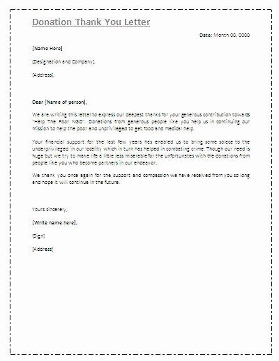 Fund Raising Letter Templates Best Of Best 25 Thank You Letter Ideas On Pinterest