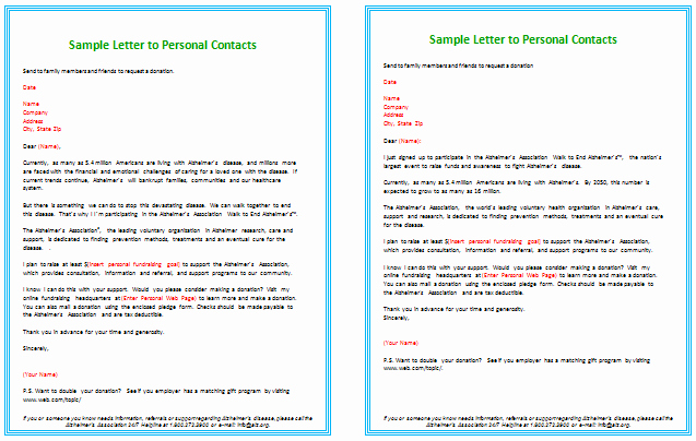 Fund Raising Letter Templates Best Of Donation Letter Templates for Fundraising Free Examples
