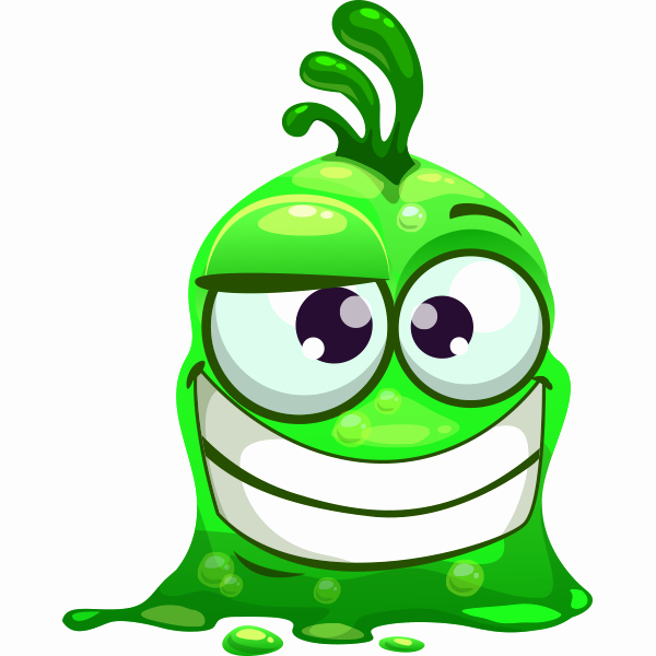 Funny Emoji Copy and Paste Elegant Grinning Glob