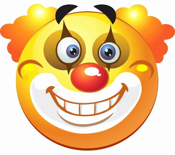 Funny Emoji Copy and Paste Luxury Clowning Around