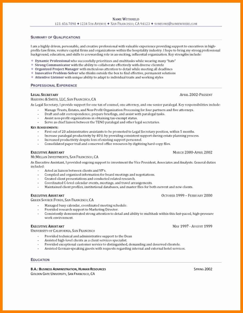 Generic Objective for Resume Beautiful Entry Level Resume Objective Oursearchworld