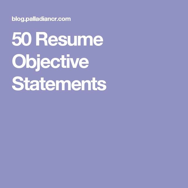 Generic Objective for Resume Best Of Best 25 Career Objective Examples Ideas On Pinterest