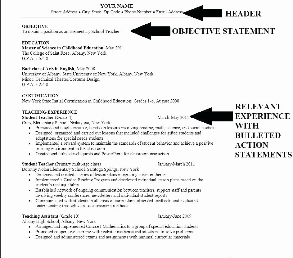 Generic Objective for Resume Best Of Good General Objective for Resume – Emelcotest