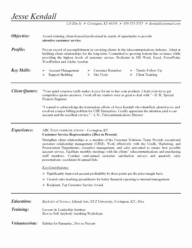 Generic Objective for Resume Lovely Good General Objective for Resume – Emelcotest