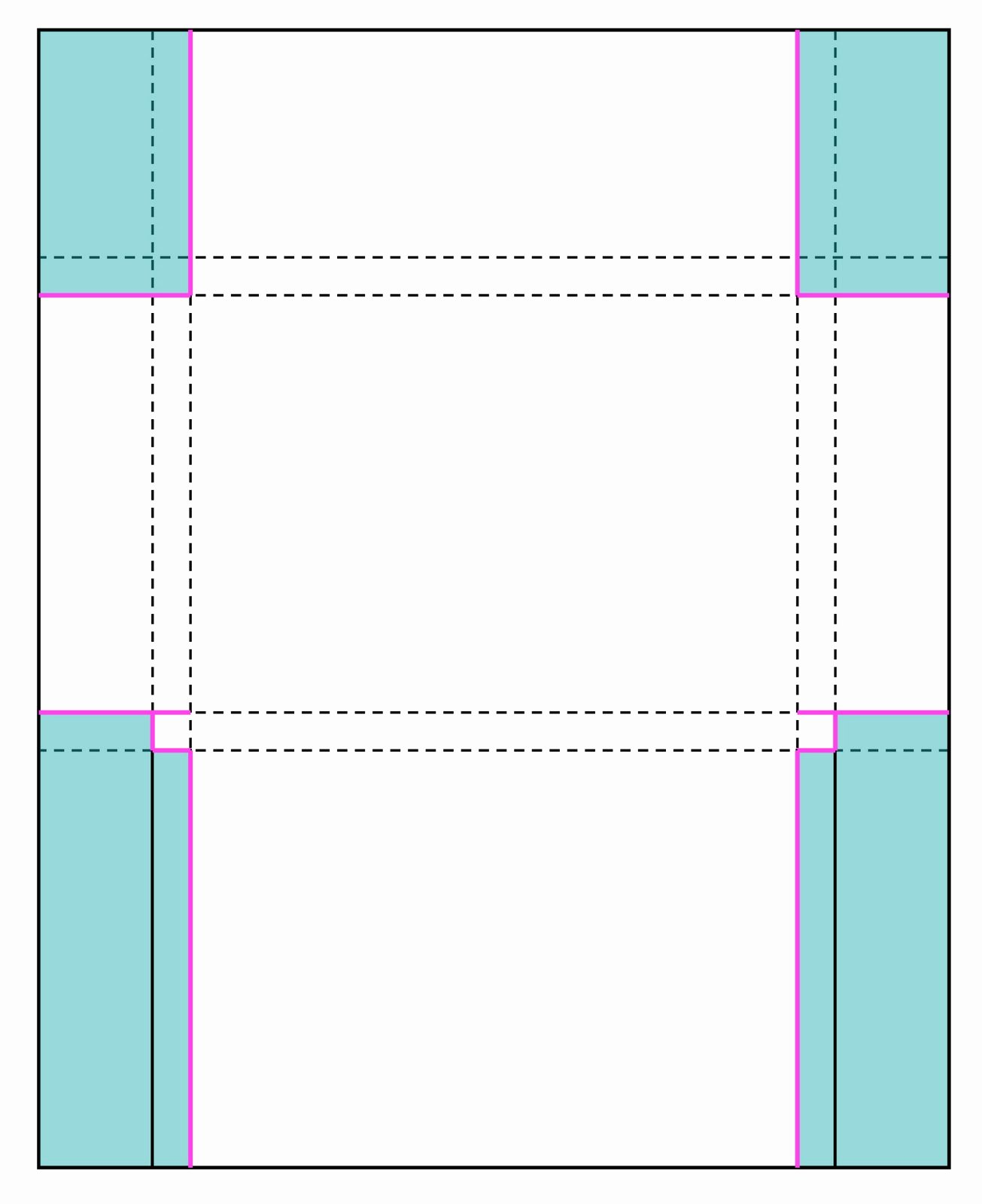Gift Card Envelope Template Awesome Perforated Note Cards & Card Set Envelope Tutorial