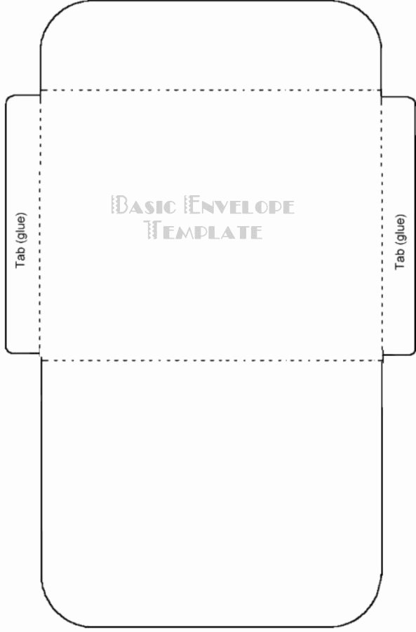 Gift Card Envelope Template Beautiful Free Printable Card Envelope Templates