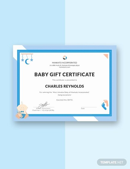 Gift Certificate Template Pages Luxury Free Internship Certificate Template Download 200