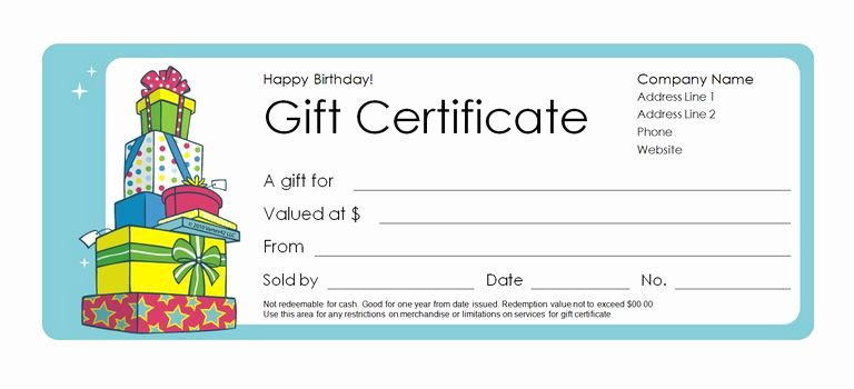 Gift Certificate Template Pages New 173 Free Gift Certificate Templates You Can Customize