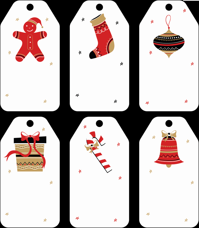 Gift Tag Template Word Fresh Free Christmas Gift Tag Templates Editable & Printable