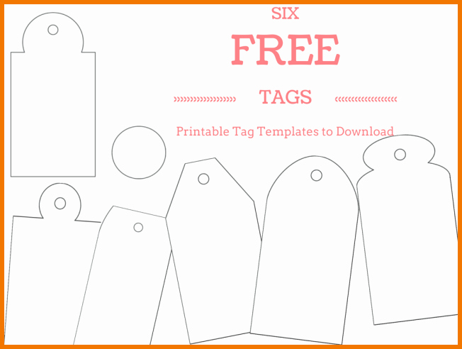 Gift Tag Template Word Inspirational Gift Tag Template Word