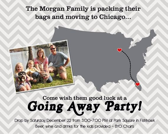 Going Away Party Invitation Fresh Going Away Party Invitation Moving Farewell Party