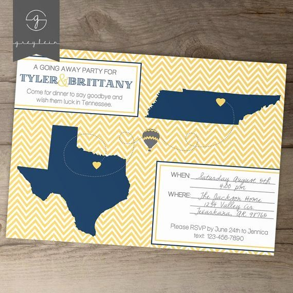 Going Away Party Invitation Inspirational Best 25 Going Away Parties Ideas On Pinterest
