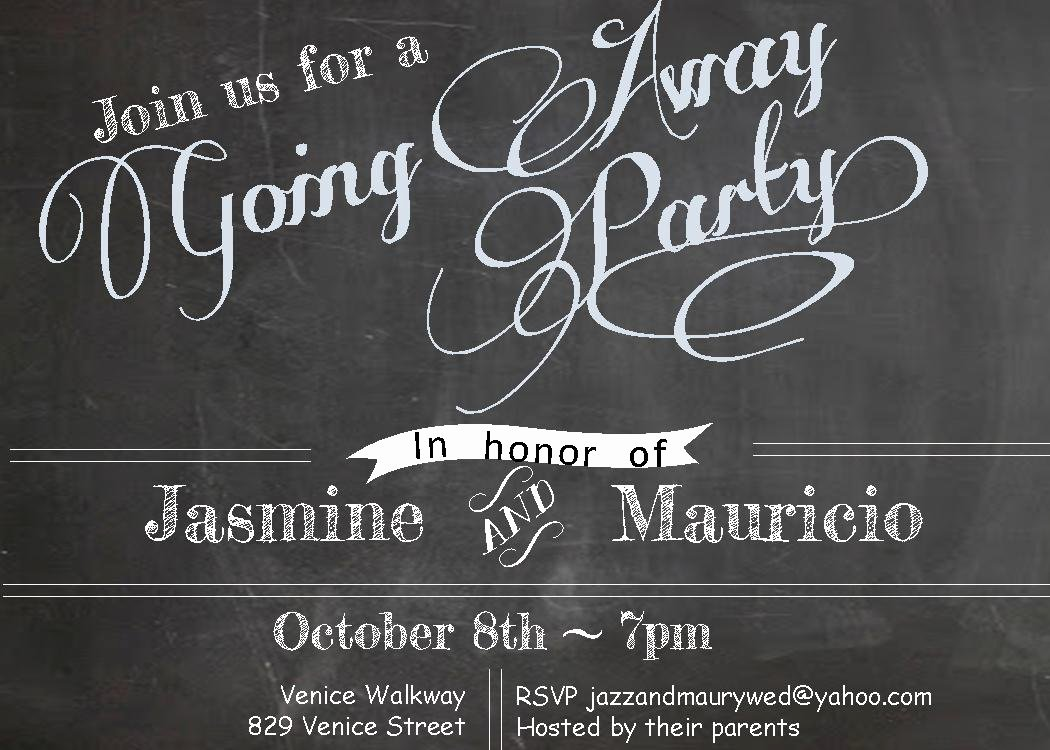 Going Away Party Invitation Luxury Going Away Party Invitations New Selections 2017