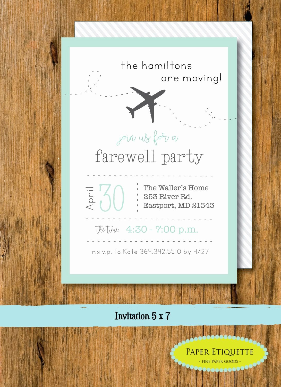 Going Away Party Invitation Luxury Going Away Party Moving Party Invitation Beer Packing