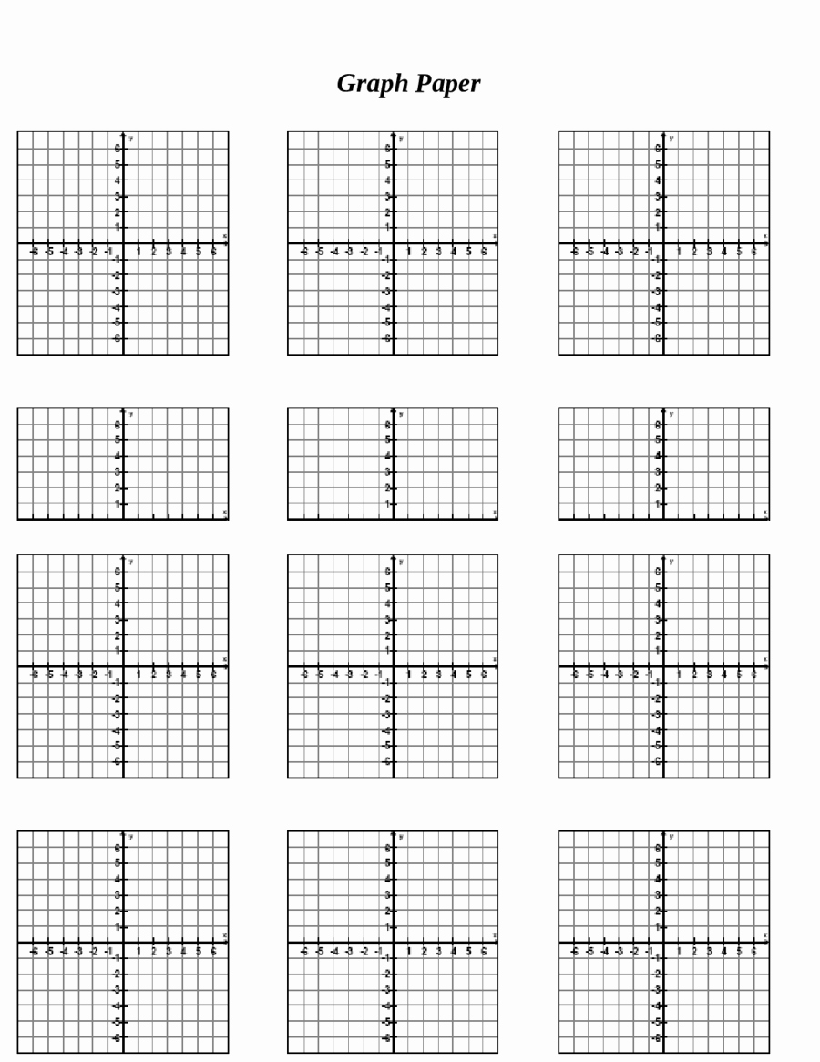 Graph Paper Template Pdf Elegant 2018 Printable Graph Paper Fillable Printable Pdf
