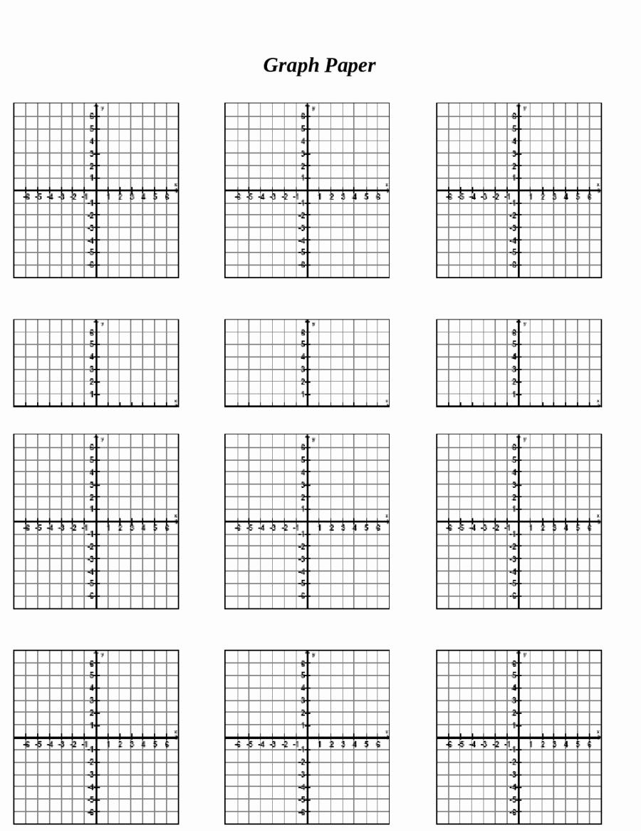 Graph Paper Template Pdf Elegant 2018 Printable Graph Paper Fillable Printable Pdf