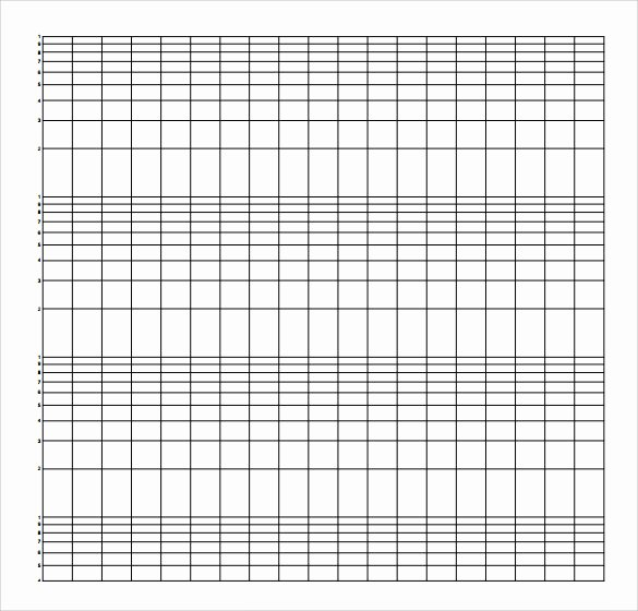 Graph Paper Template Pdf Elegant Sample Semilog Graph Paper 5 Documents In Pdf Word