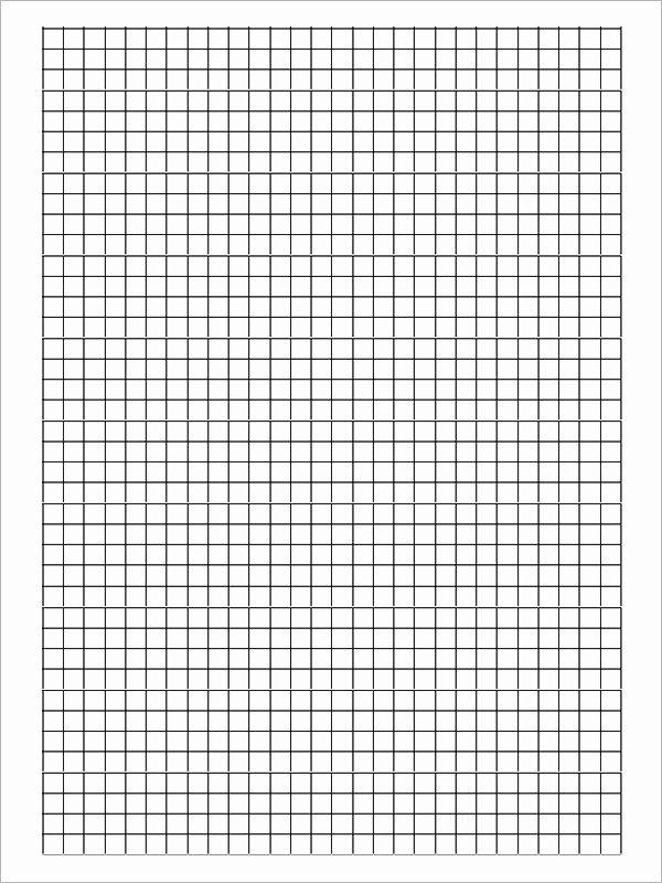 Graph Paper Template Pdf Unique Free 9 Printable Blank Graph Paper Templates In Pdf