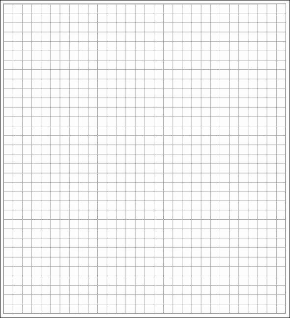 Graph Paper Template Word Awesome 5 Math Graph Papers