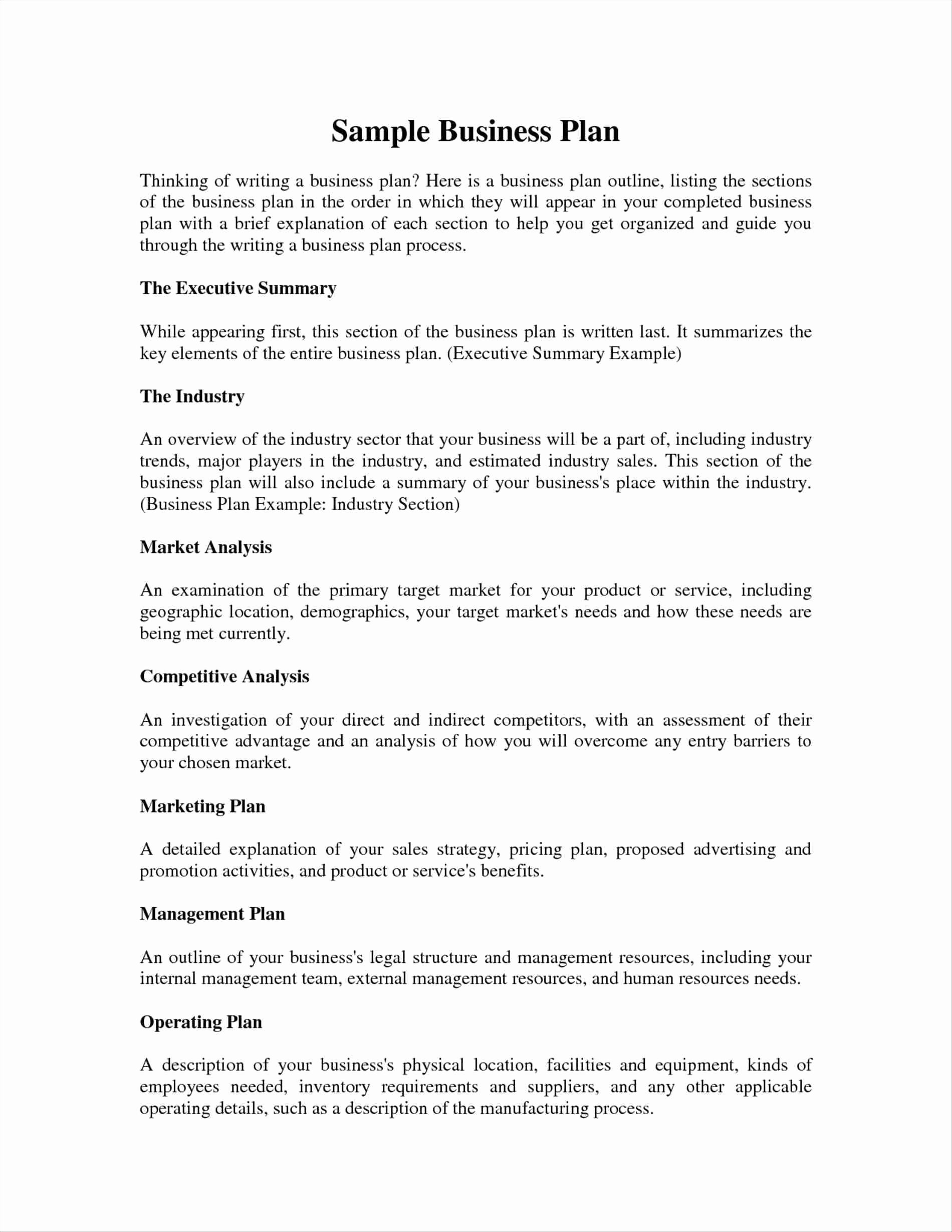 Hair Salon Business Plans Awesome Barber Shop Business Plan Template – Business Plan Example