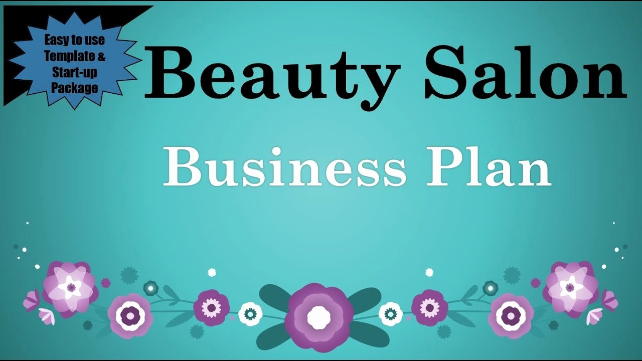 Hair Salon Business Plans Best Of Beauty Salon Business Plan Template with Example