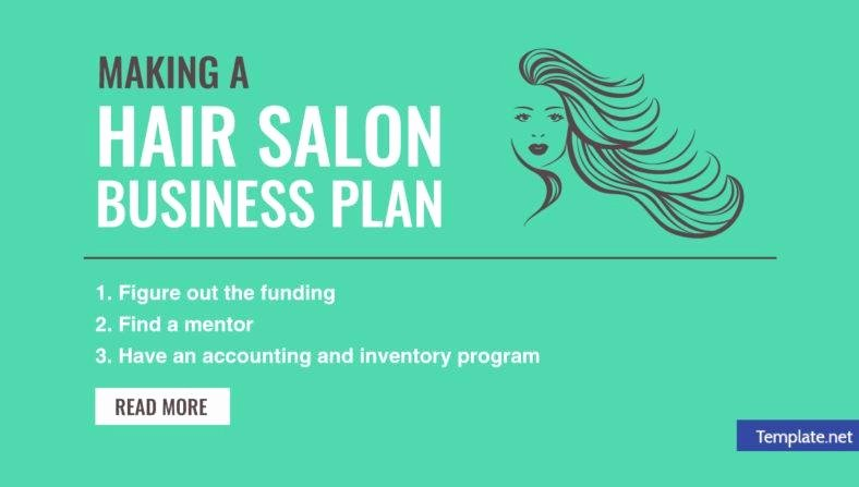 Hair Salon Business Plans New Making A Hair Salon Business Plan