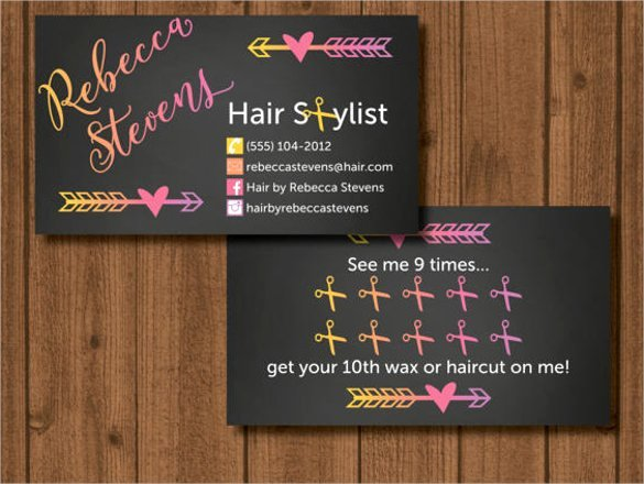 Hair Salons Business Cards Awesome Examples Cosmetology Business Cards