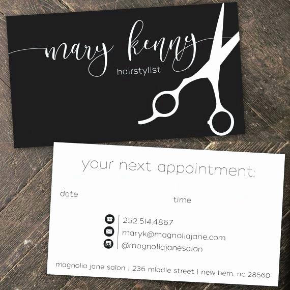 Hair Salons Business Cards Best Of top 27 Professional Hair Stylist Business Card Tips