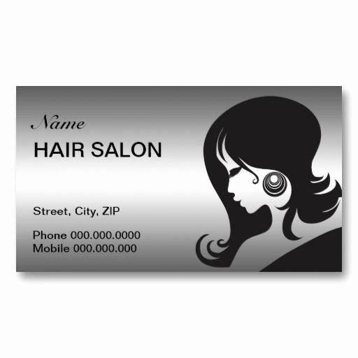 Hair Salons Business Cards Elegant 1000 Images About Hair Stylist Business Cards Templates